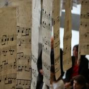 Musikalischer Regen · Ausstellungseröffnung
